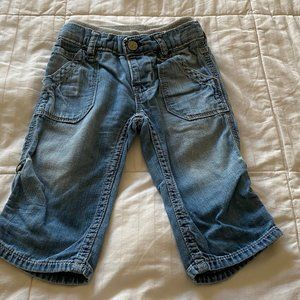 Baby Gap baby boy lil loose jeans 6-12 months old